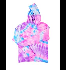 Firehouse Fire Girls Blue/Pink Tie Dye Hoodie