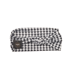 Tal Tal Cotton Houndstooth knot
