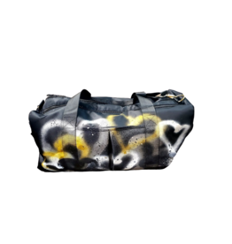 Mad Hatter Mad Hatter Painted  Duffle  Hearts/Gold