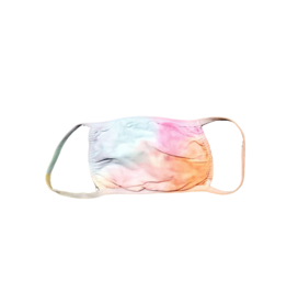 Cutie Cutie Girls  Tie Dye Mask