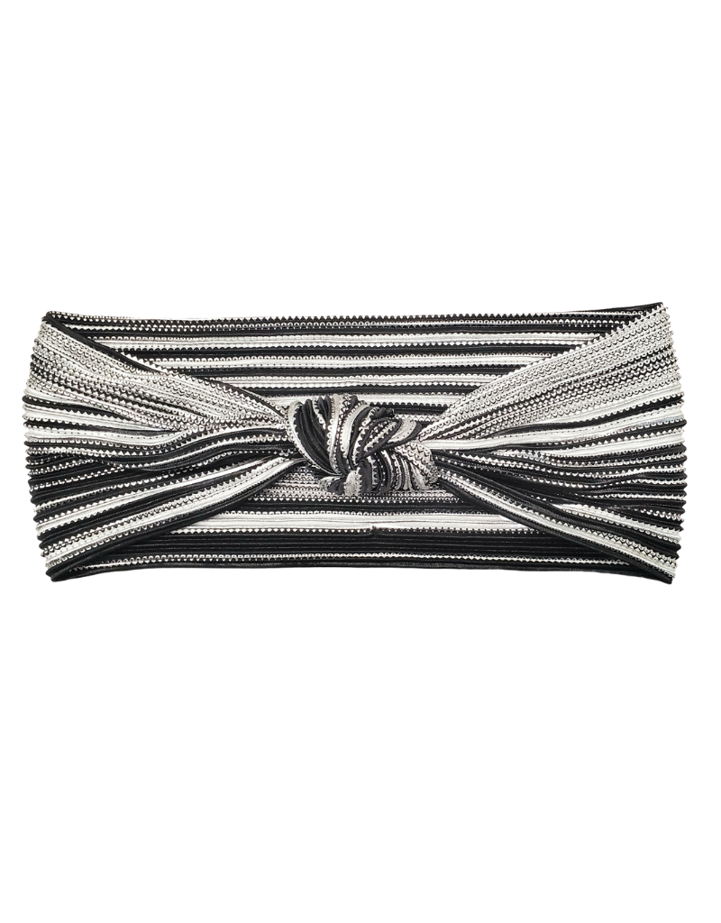 Best Beanies Best Beanies Accordion Silver -Knot Band