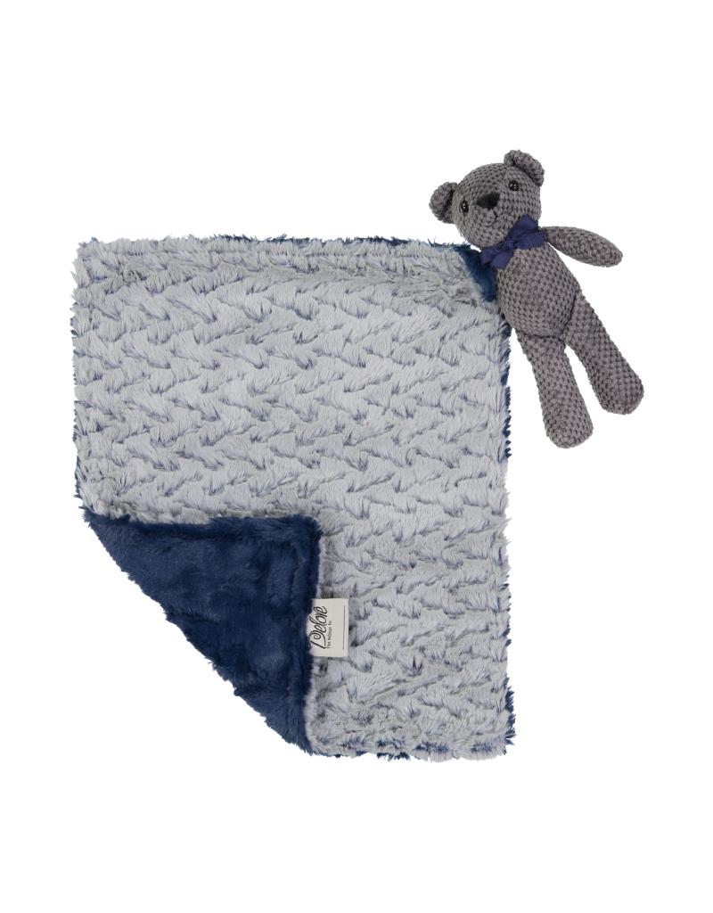 Delore Delore Baby  Bear Lovey  Blanket