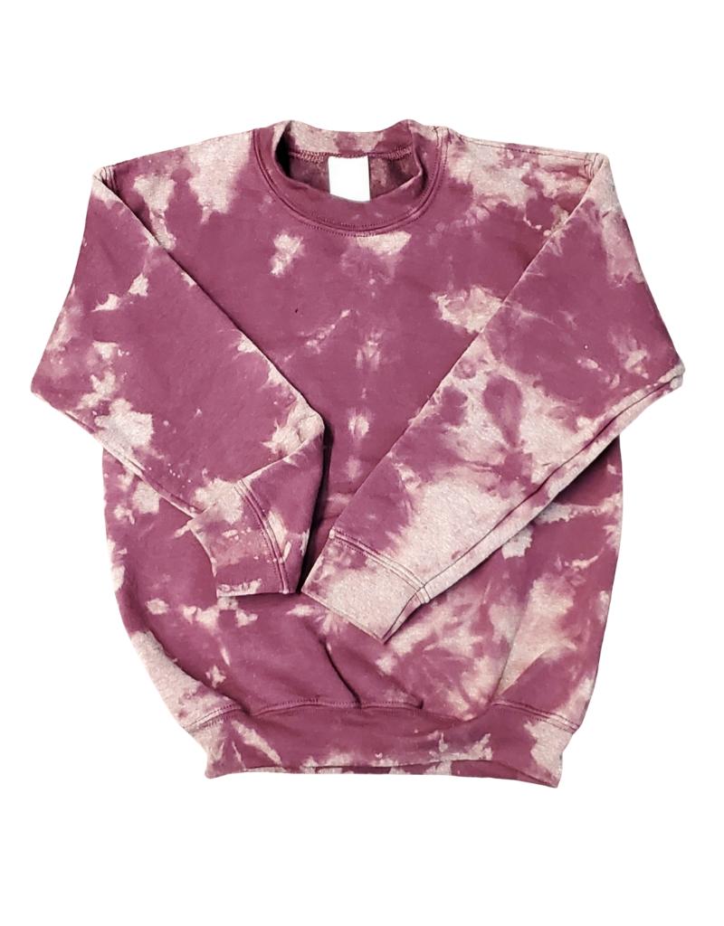 Cutie Cutie Women Tie Dye Sweatshirt-Crew Neck