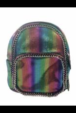 Bari Lynn Bari Lynn Assortment of Distressed Chain Backpacks