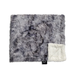 Winx and Blinx Winx and Blinx Clouds Grey and Cream Minky Blanket