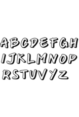 Light+Nine Light plus Nine School Alphabets Set