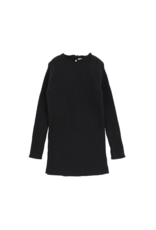 lil legs Analogie Long Sleeve Knit Sweater Black