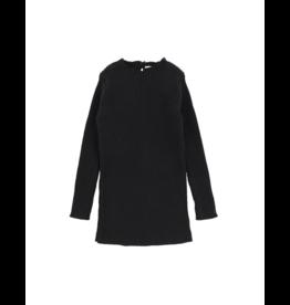 lil legs Analogie Long Sleeve Knit Sweater Black