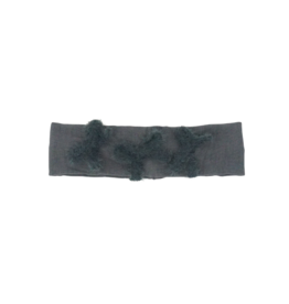 Bandeau Bandeau Triple Fur Bow Baby Band