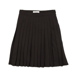 Coco Blanc Coco Blanc Wool Pleated Skirt