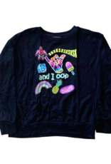 "Global Love Global Love Adult ""Oops"" Pullover"