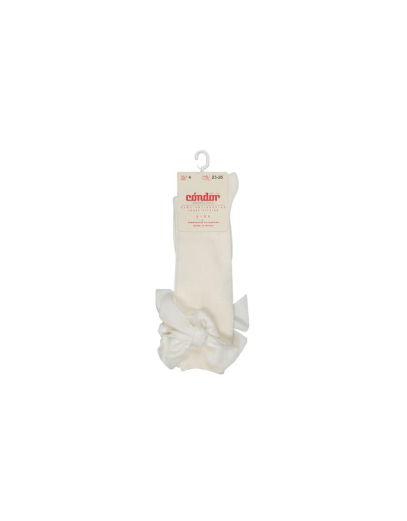 Condor Knee Sock w/ Velvet Bow 2489/2