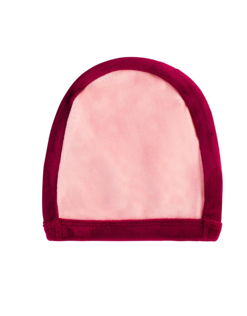 Cuddle and Coo Cuddle and Coo Outline Pink Beanie
