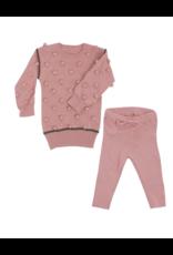 Kipp Kipp Knit Dot Sweater Set G1810