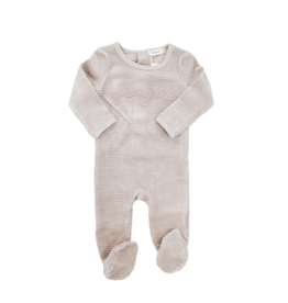 fragile Fragile Baby Romper with Embroidery