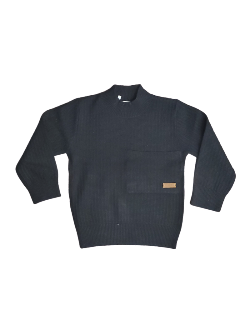 fragile Fragile Boys Sweater with Square Pockets
