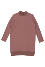 Kin + Kin Kin + Kin Mock Neck Sweatshirt Dress