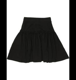 Kin + Kin Kin + Kin Jersey Ruffled A-Line Skirt