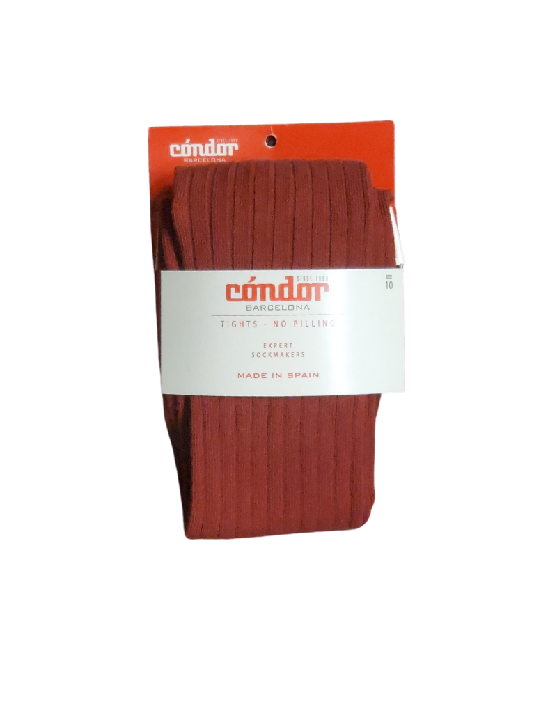 "Condor Condor Ribbed ""Warm Tones"" Tights - 32016/1"