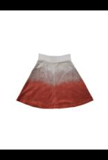 Kiki-O Five Stars Girls Velour Dip Dye Flare Skirt