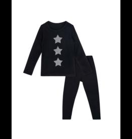 Bon Rever Bon Rever Black Stars Houndstooth Pajama