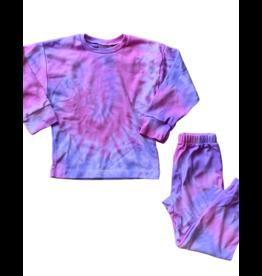 Sprinklez Sprinklez Girls Tie Dye Pajamas