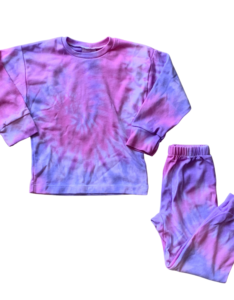Sprinklez Sprinklez Girls Tie Dye Pajamas