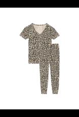 Posh Peanut Posh Peanut Lana Leopard Tan Women's Loungewear