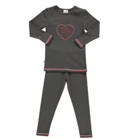 Blinq Blinq Shredded Pink Heart Pajama