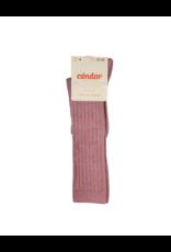 """Condor Condor """"Warm Tones"""" Ribbed Cotton Knee Socks - 2016/2"""