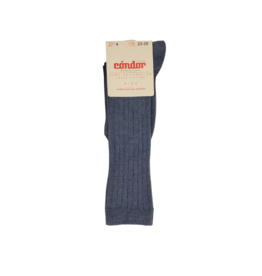 "Condor Condor "" Basic""  Ribbed Cotton Knee Socks - 2016/2"
