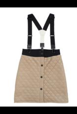 Crew Crew Quilt Suspender Skirt TD2278