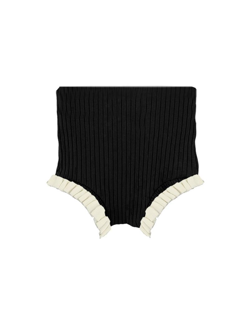 Noovel Noovel Ruffle Knit Bloomer