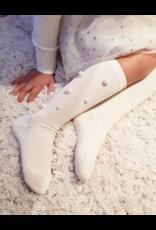 Meia pata Meia Pata  Knee Sock with Pearls-1059M