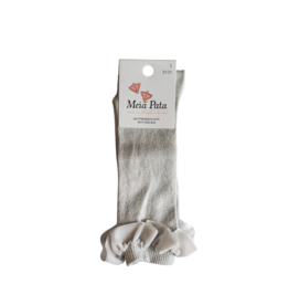 Meia pata Meia Pata Knee Sock with Velvet Shirr-1073M