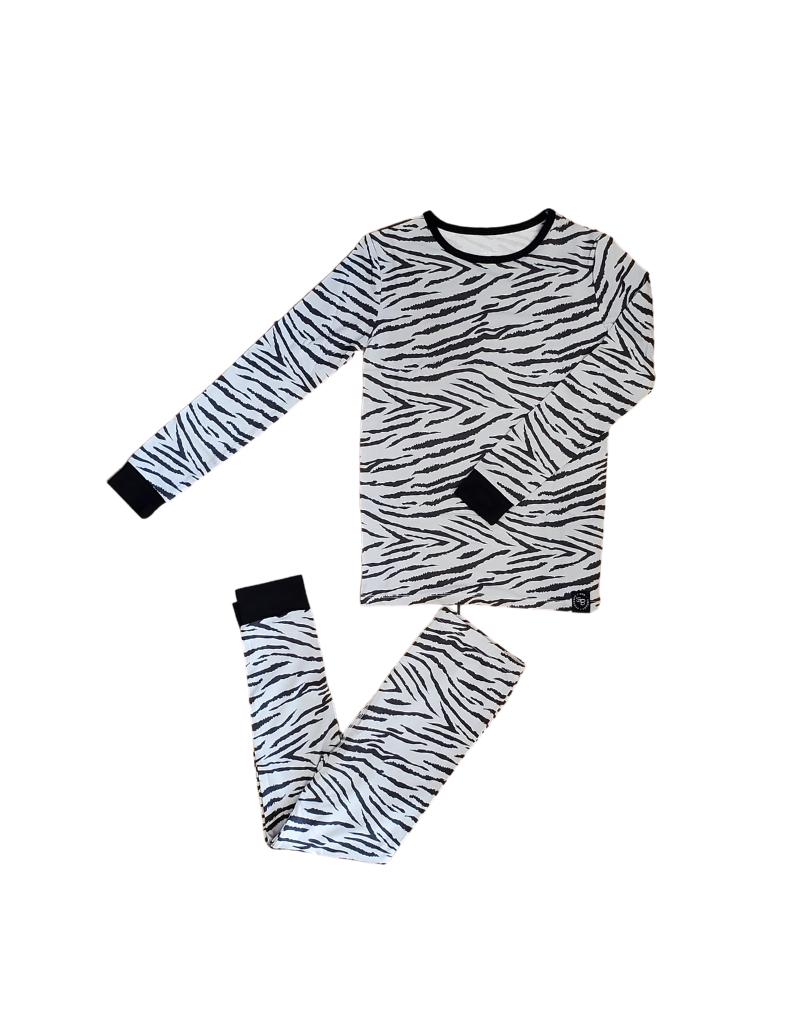 Sweet Bamboo Sweet Bamboo Tiger Stripe Pajama