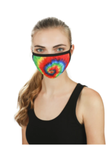 Infinity Memoi Tie Dye Unisex Face Covering (UMH06774)