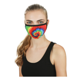 Infinity Memoi Tie Dye Unisex Face Covering (UMH06774)