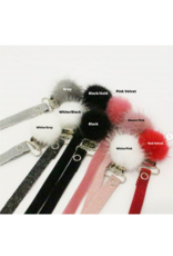 BabyO BabyO  Pom Pom with Fuzzy Thin Band-Clip