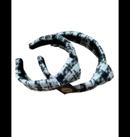 Tal Tal Plaid Tweed Hard Headband