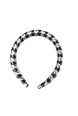Tal Tal Houndstooth Hard Headband