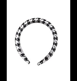 Tal Tal Houndstooth Hard Headband