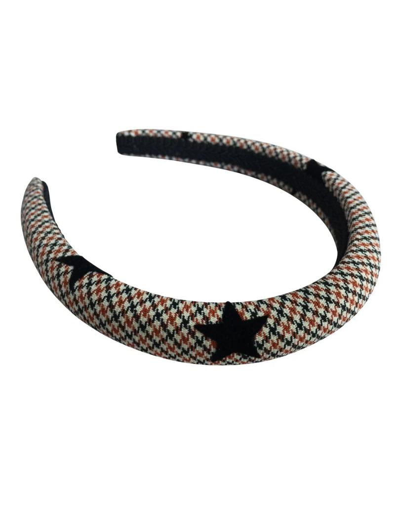 Heirlooms Heirlooms Tweed Puff Hard Headband