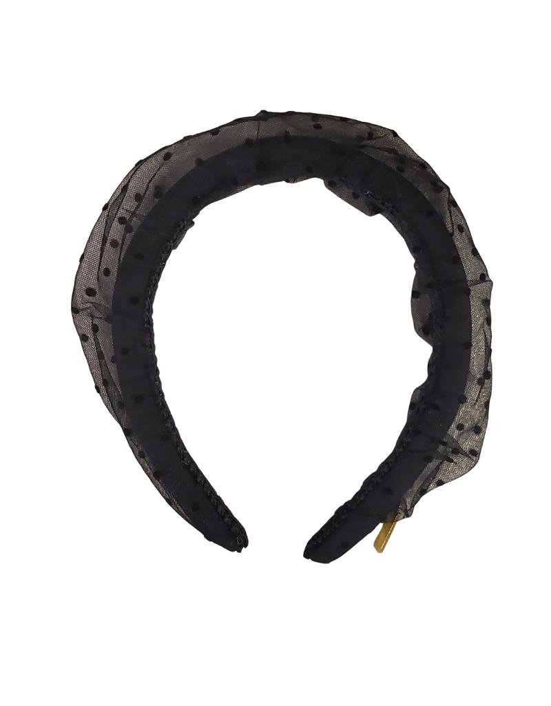 Heirlooms Heirlooms Dotted Puff Hard Headband