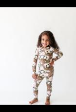 Posh Peanut Posh Peanut Leona Long Sleeve Henley Loungewear
