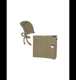 Knot Knot Bonnet /Blanket Set