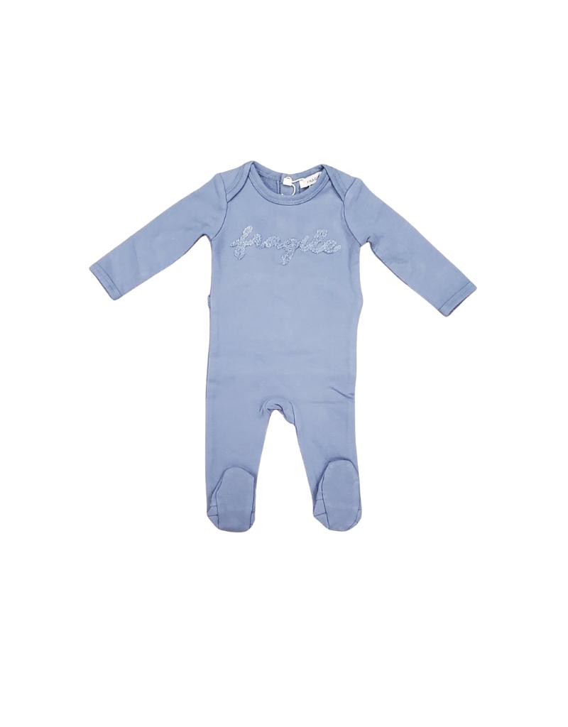 fragile Fragile Logo  Baby Romper (WBOCP4229)