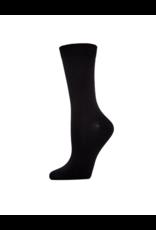 Infinity Memoi 2PP Bamboo Flat Crew Socks MO-608
