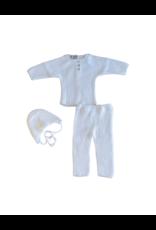 Carmina Carmina Dots Ribbed Knit Set