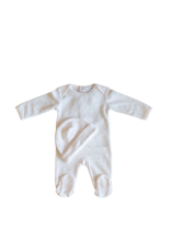 So Loved So Loved Baby Romper with Diamond-Set